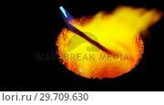 Купить «Acetylene torch melting the hot metal 4k», видеоролик № 29709630, снято 30 мая 2017 г. (c) Wavebreak Media / Фотобанк Лори