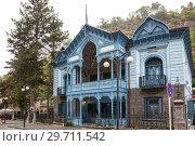 Купить «House of Mirza-Riza-Khan in Borjomi», фото № 29711542, снято 26 сентября 2018 г. (c) Юлия Бабкина / Фотобанк Лори