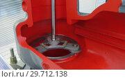 Купить «The process of grinding the valve», видеоролик № 29712138, снято 25 октября 2018 г. (c) Андрей Радченко / Фотобанк Лори