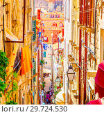 Купить «The Old Town of Dubrovnik», фото № 29724530, снято 12 июня 2017 г. (c) Роман Сигаев / Фотобанк Лори