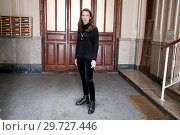 Купить «Leonor de Recondo poses ahead of her book presentation 'Amours' in Madrid Featuring: Leonor de Recondo Where: Madrid, Spain When: 01 Mar 2018 Credit: Oscar Gonzalez/WENN.com», фото № 29727446, снято 1 марта 2018 г. (c) age Fotostock / Фотобанк Лори