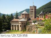 Купить «Benedictine Monastery of Santa Maria de Ripoll, Catalonia», фото № 29729958, снято 16 июля 2017 г. (c) Яков Филимонов / Фотобанк Лори
