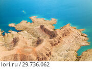 Купить «aerial view of grand canyon and lake mead», фото № 29736062, снято 1 марта 2018 г. (c) Syda Productions / Фотобанк Лори