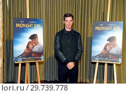 Купить «Patrick Schwarzenegger promotes his upcoming movie 'Midnight Sun' (Alles fuer dich) at Soho House at Alexanderplatz. Featuring: Patrick Schwarzenegger...», фото № 29739778, снято 26 февраля 2018 г. (c) age Fotostock / Фотобанк Лори