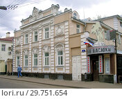 Купить «Москва. Староконюшенный переулок, дом 2», фото № 29751654, снято 8 мая 2006 г. (c) Илюхина Наталья / Фотобанк Лори