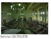 Купить «Москва, Казанский вокзал», фото № 29753578, снято 18 июля 2019 г. (c) Борис Кавашкин / Фотобанк Лори