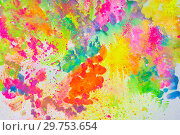 Купить «Nice colorful creative abstract art.», фото № 29753654, снято 3 апреля 2016 г. (c) Сергей Сухоруков / Фотобанк Лори