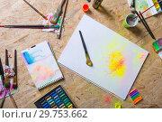 Купить «Creative colorful still life.», фото № 29753662, снято 3 апреля 2016 г. (c) Сергей Сухоруков / Фотобанк Лори