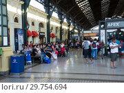 Купить «Central Railway Station», фото № 29754694, снято 10 февраля 2017 г. (c) Яков Филимонов / Фотобанк Лори