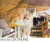 Купить «Excursion at Cueva de las Manos», фото № 29754842, снято 30 января 2017 г. (c) Яков Филимонов / Фотобанк Лори