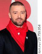 Купить «The BRIT Awards 2018 - Red carpet arrivals Featuring: Justin Timberlake Where: London, United Kingdom When: 21 Feb 2018 Credit: WENN.com», фото № 29759954, снято 21 февраля 2018 г. (c) age Fotostock / Фотобанк Лори