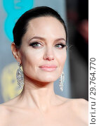 Купить «71st EE British Academy Film Awards (BAFTA) - Arrivals Featuring: Angelina Jolie Where: London, United Kingdom When: 18 Feb 2018 Credit: WENN.com», фото № 29764770, снято 18 февраля 2018 г. (c) age Fotostock / Фотобанк Лори