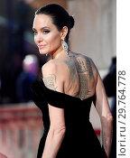 Купить «71st EE British Academy Film Awards (BAFTA) - Arrivals Featuring: Angelina Jolie Where: London, United Kingdom When: 18 Feb 2018 Credit: WENN.com», фото № 29764778, снято 18 февраля 2018 г. (c) age Fotostock / Фотобанк Лори