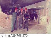 Купить «Red team is celebrating the victory», фото № 29768370, снято 10 июля 2017 г. (c) Яков Филимонов / Фотобанк Лори