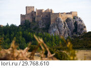 Купить «Medieval castle of Loarre on mountainside», фото № 29768610, снято 2 декабря 2018 г. (c) Яков Филимонов / Фотобанк Лори