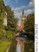Купить «Radunia Channel in Gdansk, Poland», фото № 29768670, снято 31 августа 2006 г. (c) Stockphoto / Фотобанк Лори