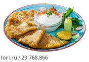 Купить «Potato scones or tattie scones», фото № 29768866, снято 18 августа 2019 г. (c) Яков Филимонов / Фотобанк Лори