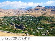 Купить «Армения, горный сельский пейзаж», фото № 29769418, снято 23 сентября 2018 г. (c) Инна Грязнова / Фотобанк Лори