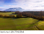 Picturesque landscape of hillsides of Navarre (2018 год). Стоковое фото, фотограф Яков Филимонов / Фотобанк Лори