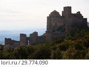 Купить «Loarre Castle, Huesca Province, Aragon, Spain», фото № 29774090, снято 2 декабря 2018 г. (c) Яков Филимонов / Фотобанк Лори