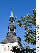 Купить «Niguliste- St. Nicholas Church in Tallinn, Estonia», фото № 29777698, снято 24 мая 2016 г. (c) Вознесенская Ольга / Фотобанк Лори