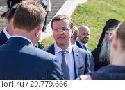 Купить «Governor of the Samara region Dmitry Azarov», фото № 29779666, снято 6 мая 2018 г. (c) FotograFF / Фотобанк Лори