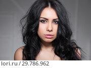 Купить «Portrait of a cute young lady.», фото № 29786962, снято 3 февраля 2016 г. (c) Сергей Сухоруков / Фотобанк Лори
