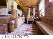 Купить «Interior of the museum generalissimo Suvorov in homestead», фото № 29795770, снято 22 июля 2017 г. (c) FotograFF / Фотобанк Лори
