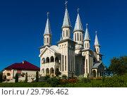 Купить «The church St. Archangels in Remetea Chioarului», фото № 29796462, снято 14 сентября 2017 г. (c) Яков Филимонов / Фотобанк Лори
