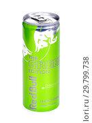 Купить «Red Bull The Green Edition», фото № 29799738, снято 26 января 2019 г. (c) Art Konovalov / Фотобанк Лори