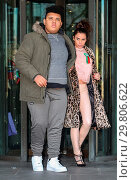 Купить «Katie Price leaves Portcullis House, with her mother Amy and son Harvey, after addressing a parliamentary sub-committee on on-line hate Featuring: Katie...», фото № 29806622, снято 6 февраля 2018 г. (c) age Fotostock / Фотобанк Лори