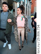 Купить «Katie Price leaves Portcullis House, with her mother Amy and son Harvey, after addressing a parliamentary sub-committee on on-line hate Featuring: Katie...», фото № 29806734, снято 6 февраля 2018 г. (c) age Fotostock / Фотобанк Лори