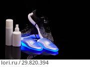 Купить «Electric shoes dryer», фото № 29820394, снято 16 января 2019 г. (c) Мельников Дмитрий / Фотобанк Лори