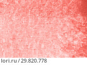 Купить «abstract living coral color background», фото № 29820778, снято 18 февраля 2018 г. (c) Syda Productions / Фотобанк Лори