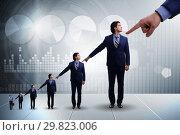 Купить «Businessmen blaming each other for failures», фото № 29823006, снято 23 ноября 2019 г. (c) Elnur / Фотобанк Лори