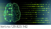 Machine learning and cognitive computing - 3d rendering. Стоковое фото, фотограф Elnur / Фотобанк Лори