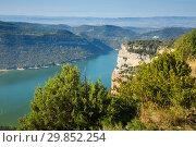 View of Sau reservoir. Стоковое фото, фотограф Яков Филимонов / Фотобанк Лори