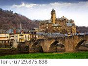 Купить «French medieval village Estaing», фото № 29875838, снято 4 января 2019 г. (c) Яков Филимонов / Фотобанк Лори