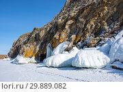 Купить «Lake Baikal in winter», фото № 29889082, снято 2 марта 2017 г. (c) Юлия Белоусова / Фотобанк Лори