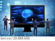 Купить «Cognitive computing concept as modern technology», фото № 29889650, снято 17 октября 2019 г. (c) Elnur / Фотобанк Лори