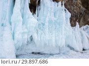 Купить «Lake Baikal in winter», фото № 29897686, снято 3 марта 2017 г. (c) Юлия Белоусова / Фотобанк Лори