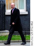Купить «Cabinet Meeting in Downing Street. Featuring: Chris Grayling Where: London, United Kingdom When: 09 Jan 2018 Credit: WENN.com», фото № 29912462, снято 9 января 2018 г. (c) age Fotostock / Фотобанк Лори