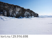 Купить «Lake Baikal in winter», фото № 29916698, снято 6 марта 2017 г. (c) Юлия Белоусова / Фотобанк Лори