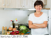 glad mature woman. Стоковое фото, фотограф Яков Филимонов / Фотобанк Лори
