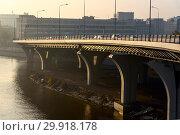 Купить «Мост Бетанкура. Санкт-Петербург», эксклюзивное фото № 29918178, снято 17 октября 2018 г. (c) Александр Щепин / Фотобанк Лори