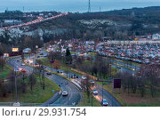 Heavy traffic in and out of Bluewater in Kent this afternoon. (2017 год). Редакционное фото, фотограф WENN.com / age Fotostock / Фотобанк Лори