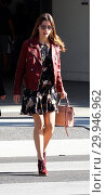Купить «Jessica Biel arrives at The farm of Beverly Hills. Jessica was nominated today for a Golden Globe award for best actress for her role in 'The Sinner' Featuring...», фото № 29946962, снято 11 декабря 2017 г. (c) age Fotostock / Фотобанк Лори