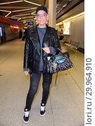 Купить «Celebrities leaving to Australia for german RTL TV Show 'Ich bin ein Star - Holt mich hier raus' at Berlin Tegel Airport. Featuring: Natascha Ochsenknecht...», фото № 29964910, снято 14 января 2018 г. (c) age Fotostock / Фотобанк Лори