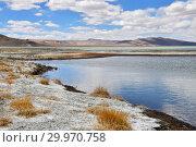 Купить «Великие озера Тибета. Озеро Рулдан (Нак) на Тибетском нагорье летом. Китай», фото № 29970758, снято 11 июня 2018 г. (c) Овчинникова Ирина / Фотобанк Лори