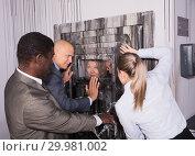 Купить «Escape room stylized like thriller», фото № 29981002, снято 29 января 2019 г. (c) Яков Филимонов / Фотобанк Лори